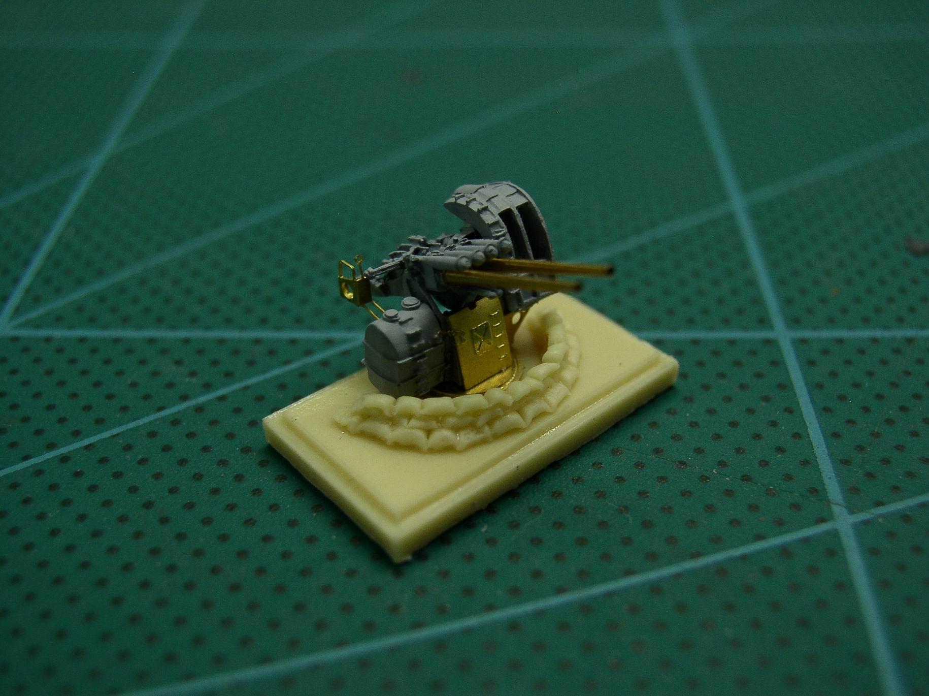 WWII IJN対空機銃座土嚢セット