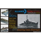 1/350Gearing Class Destroyer Detail Set (USN駆逐艦ディティールアップセット)