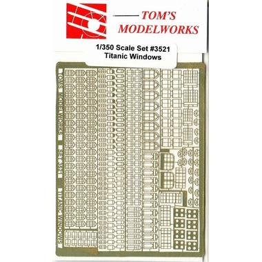 TOM'sModerlWorks1/350タイタニック用ウィンド各種エッチングセット