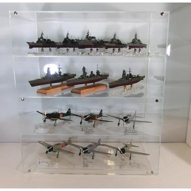1/700艦船模型と1/48航空機用4段ケース