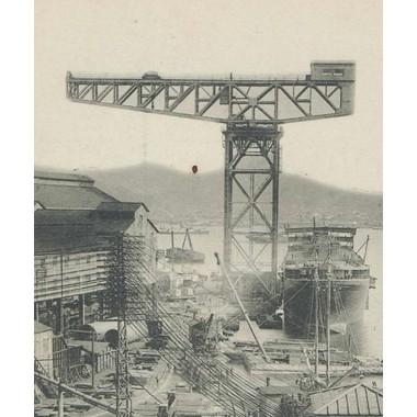 1/700IJN150t長崎造船所ガントリークレーン
