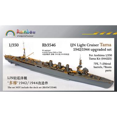 レインボーモデル1/350日本海軍艦軽巡多摩エッチングセット