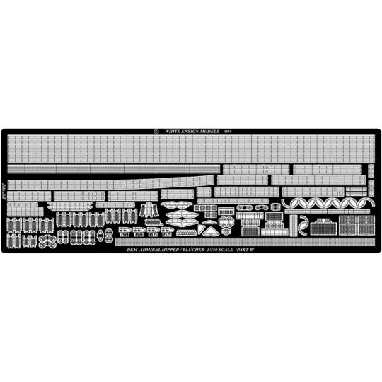 White Ensign,エッチング,1/350,アドミラルヒッパー