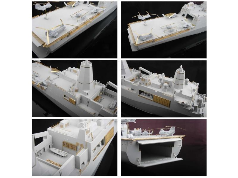 LPD21USSニューヨークディティールアップ1/350モデル用